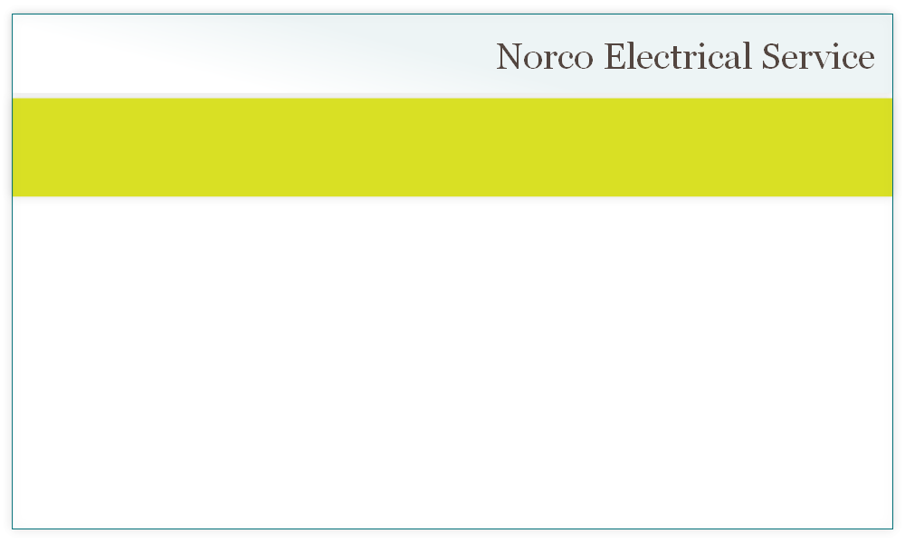 Welcome To Norco Electrical Service Norco Electric